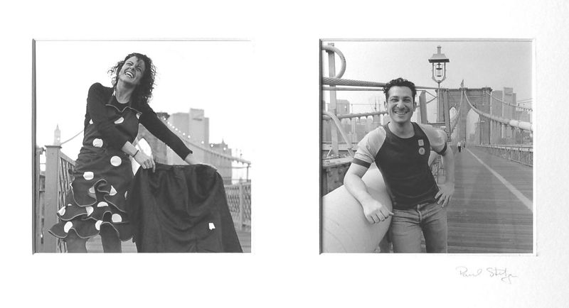 Maria  Spain   &   David  Argentina   Brooklyn Bridge