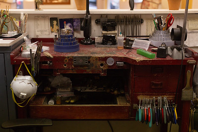 Edith's workbench