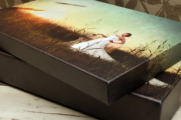 "Gallery Wrapped Canvas Sample View 01<br /> ----------------------------------------------------------<br /> Gallery wrapped canvases are the ultimate display in artistic portraiture, with your image custom-printed to an individual poly-cotton blend matte canvas with archival certification before being completely wrapped around a 1.5"" stretcher frame.  Gallery wrapped canvases are a striking way to showcase your favorite images and make a great centerpiece on the wall or mantle.  All canvases come with mounting hardware installed on the back and are ready to hang.  Gallery wrapped canvases come in all standard sizes and custom sizing is available in any dimension up to 34x54."