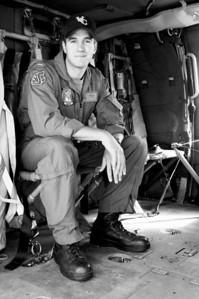 Nighthawk helicopter pilot LT JG Dempsey.