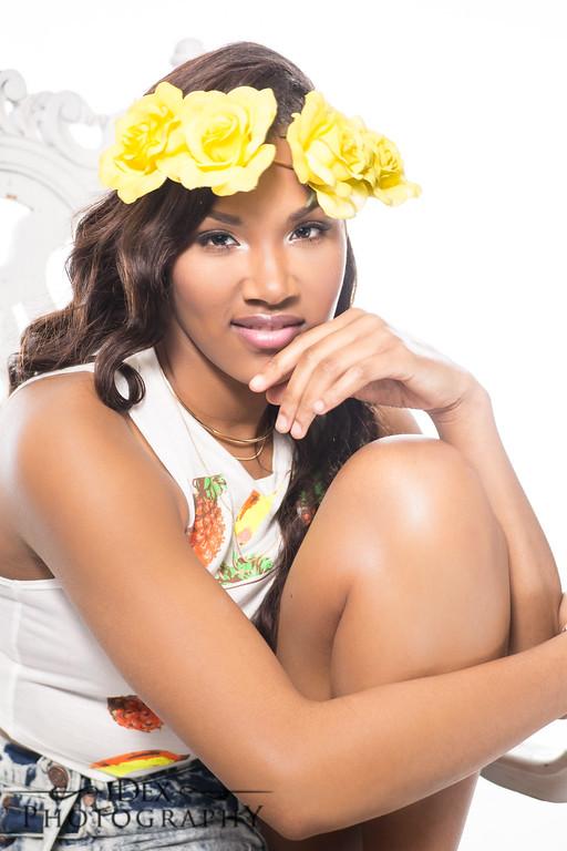 Emoni's Model shoot with iDex Photography