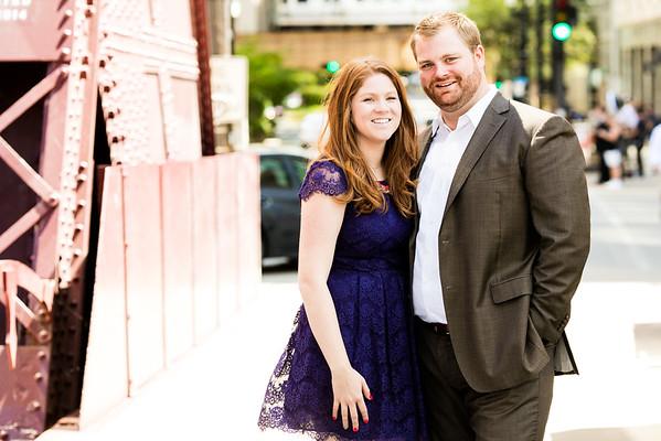 Patrick and Lauren