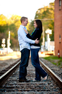 Kristina and Kyle Engagement Session-1