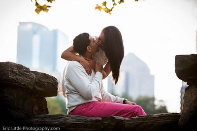 Vanessa and Joshua Engage-44