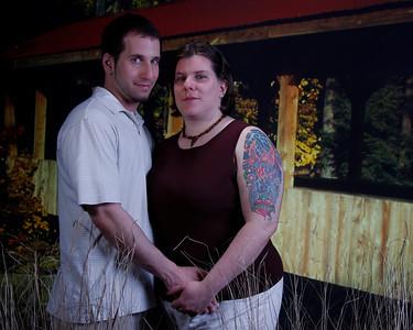 Allison and Evan