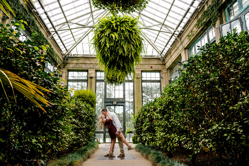 Longwood Gardens Engagement Session ~ Kirsten & Brady