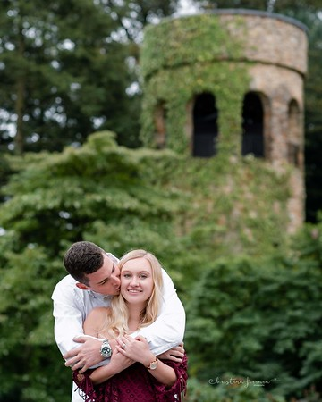 Kirsten & Brady's Engagement Session at Longwood Gardens