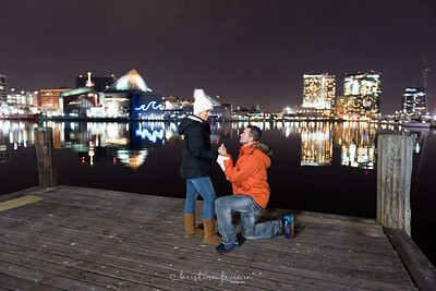 Baltimore City Inner Harbor Engagement