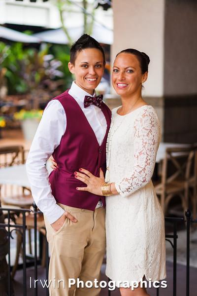 Amanda and Hallie Engagement