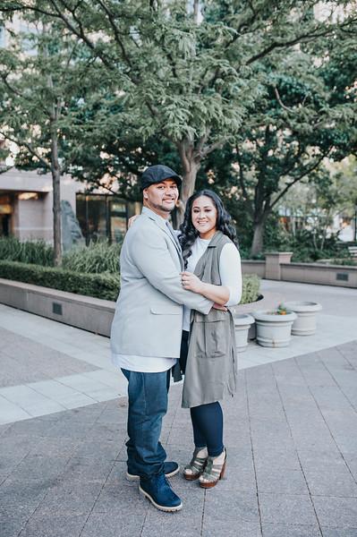 TJ + Mafi // Utah Engagement Photography