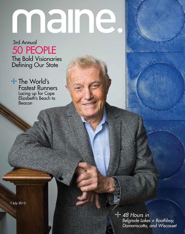 Dan Crewe, Cover Maine Magazine