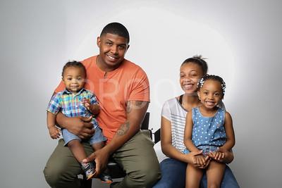 Eric Singletary and Kids