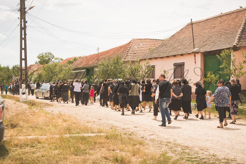 Olcea, Romania - Gypsy Funeral