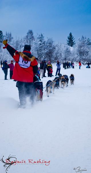 Normand Casavant, Yukon Quest 2010, Fairbanks, AK, The Casaventures Kennel