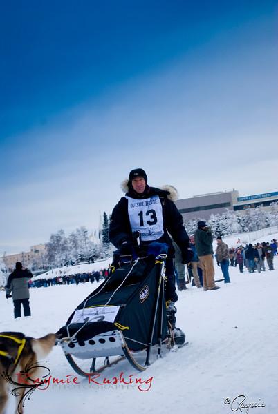 Hans Gatt, Yukon Quest 2010, Fairbanks, AK