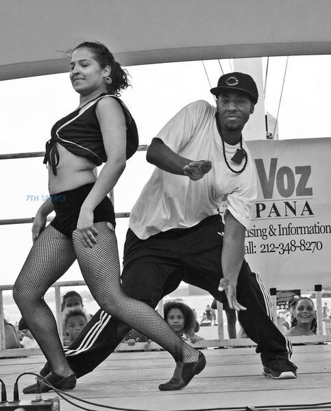 Orchard Beach concert - LA Bronx
