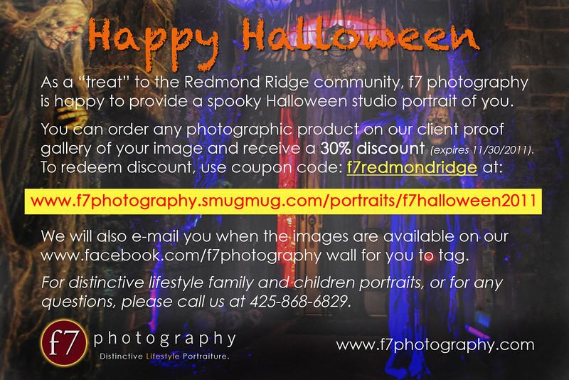 Redmond Ridge Halloween 2011 promo