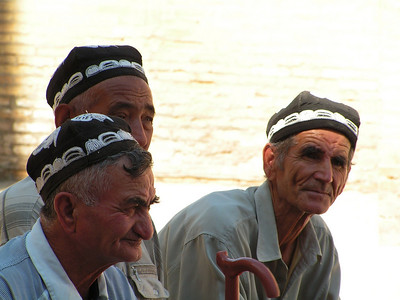 Faces of Uzbekistan and Tadjikistan