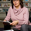 Associate Professor Jennifer Manganello studies the influence of mass media on the health of children and adolescents. Photographer: Paul Miller