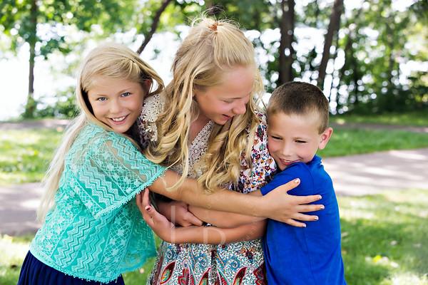 2018 7.18 Pagel Family Maryann Clara 10 Oliver 8 | Lake Nokomis Main Beach