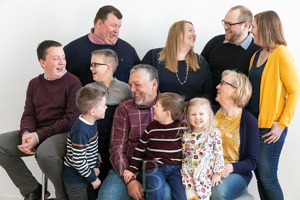 2019 2.24 Forseth Family | Studio Portraits