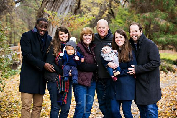 2017 10.28 Henderson Flynn Family | Peace Garden