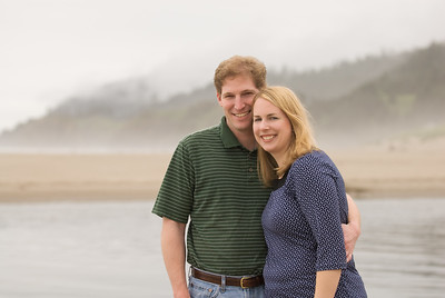Andrew and Diana at Cannon Beach
