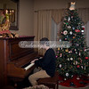 Logan playing the piano