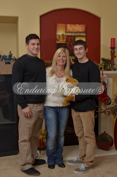 Patty and sons goofing a bit