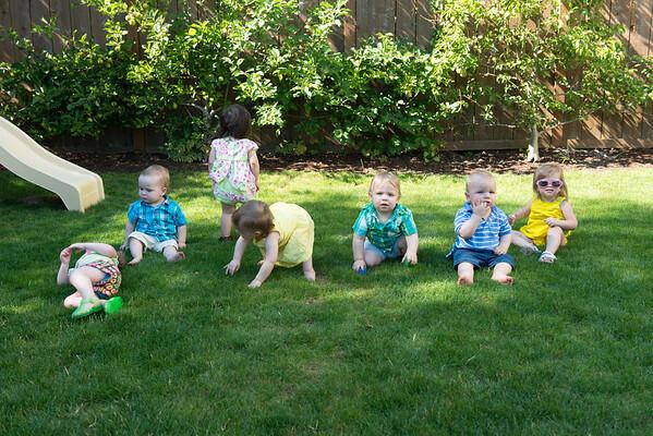 Birthing Class Reunion June 2013