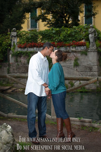 It is obvious that Erika and Michael are in love. What a wonderful session to be a part of, even if it was constantly raining. From Vicenza's oldest bridge, to the caffé where these two love birds first met, to the park near their house, Erika and Michael walked me through their lovely courtship that will lead to marriage in December. If ever there was love...