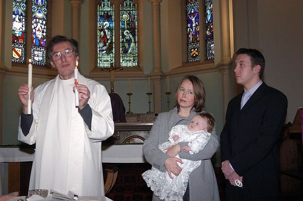 Fiona & Richards Christening