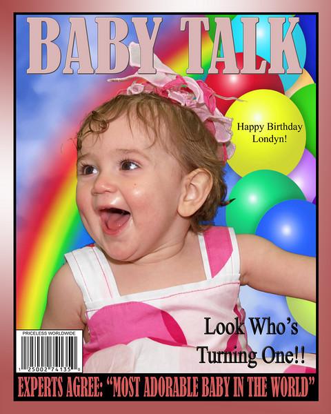 BABY TALK 8x10