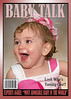BABY TALK londyn 5x7<br /> Choose your favorite picture to create a magazine cover photo.