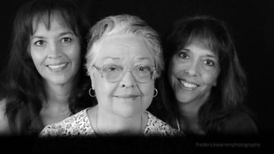 Sisters and Mom Fuji Neopan Acros 100