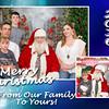 Christmas Blessings blue