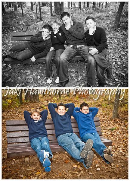 Matz family photos taken 11-13-2011 at Lucky Shoals Park and in the studio in Norcross, GA.