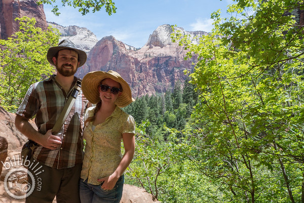 Tartakoff's Family Photos at Zion National Park