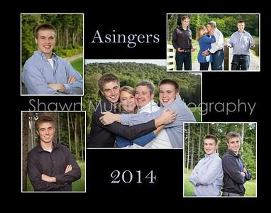 Asinger Christmas cards 2015