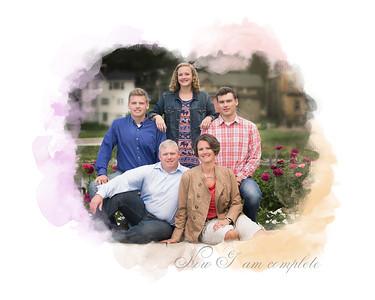 8x10 Davis Family