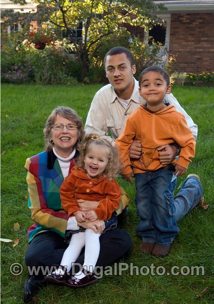 Schauer family portrait, Tim, Cathy, Nick, Jonathan, Meredith, Grandmother too.   Copyright Anthony Dugal Photography, Kalamazoo, Michigan, USA, (269) 349-6428.