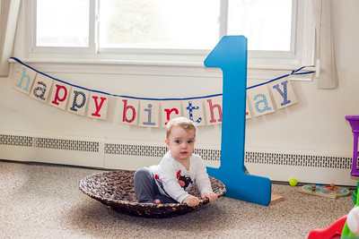 J turns one