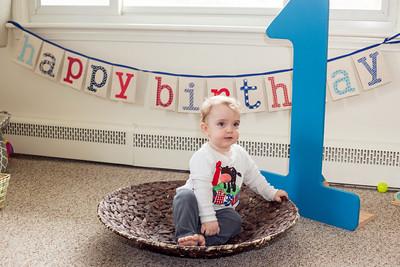 Baby J turns one