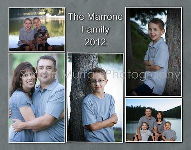 Marrone Family Collage 11x14
