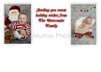 Christmas cards Melissa & Cory