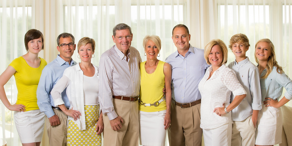 Panoramic Family Portrait