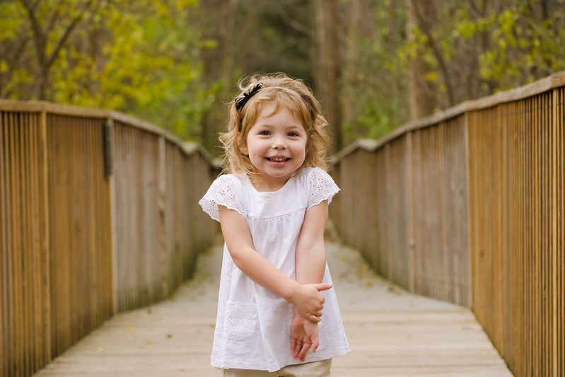 Photo of child at Wehr Nature Center in Milwaukee.