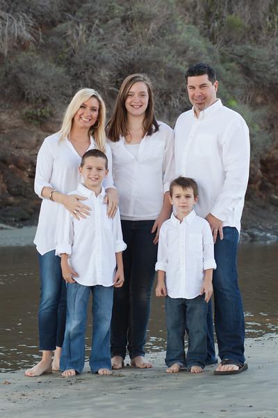 Bisbee Family | Avila Beach Holiday Session