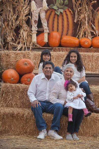 Cruz Family | Avila Valley Holiday Session 2014