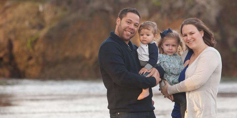 Hamilton Family | Avila Beach Winter Session 2014